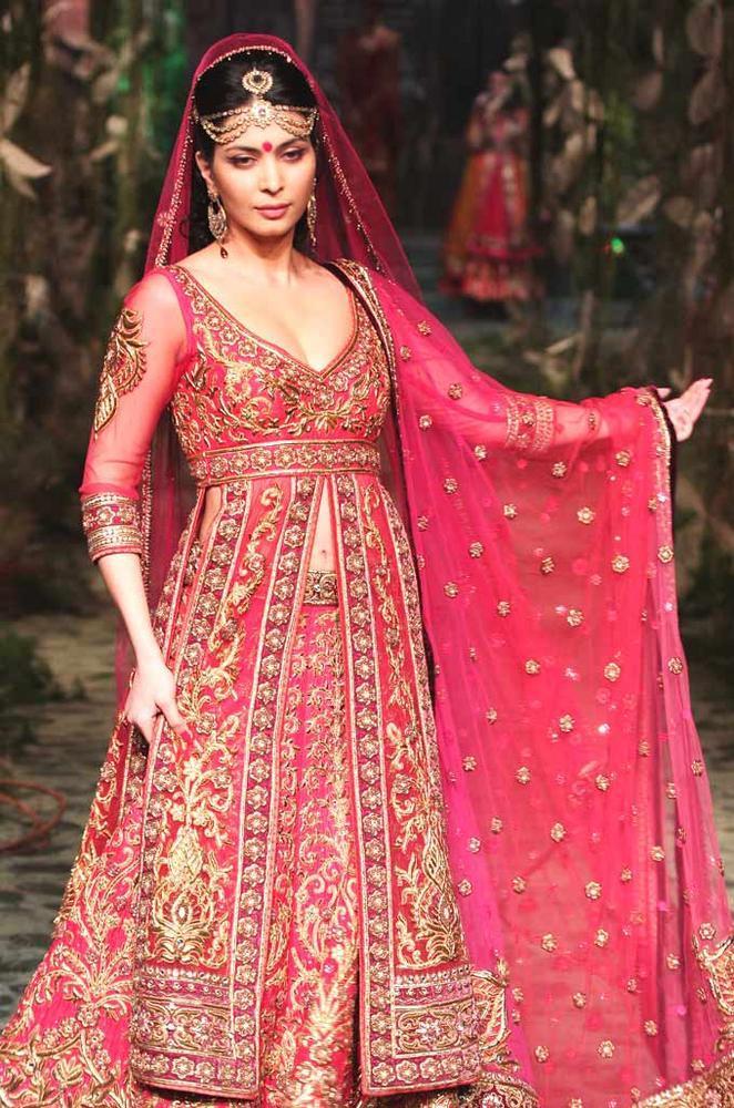 Ankita Shorey Walks The Ramp At India Bridal Fashion Week In Mumbai