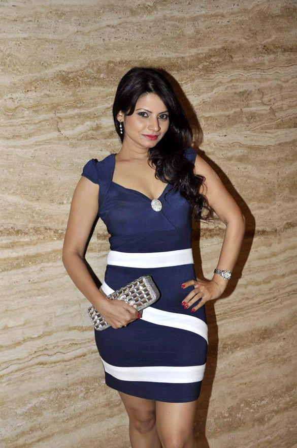 Celeb at The Launch of Marathi Movie Balak Palak