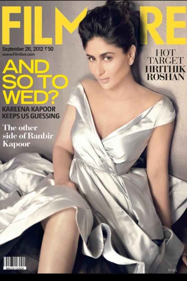 Bollywood Diva Kareena Sizzles On The Cover Of Filmfare Magazine