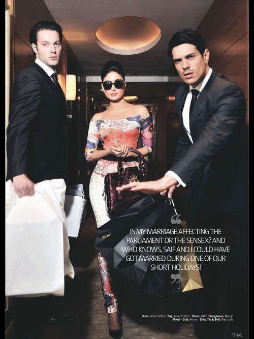 Kareena Hot On The Cover Of Filmfare Magazine September 2012