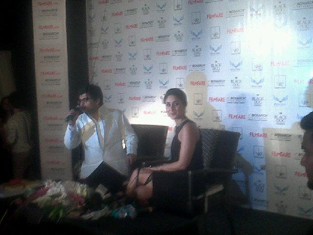 Kareena Kapoor at Filmfare September Issue Launch