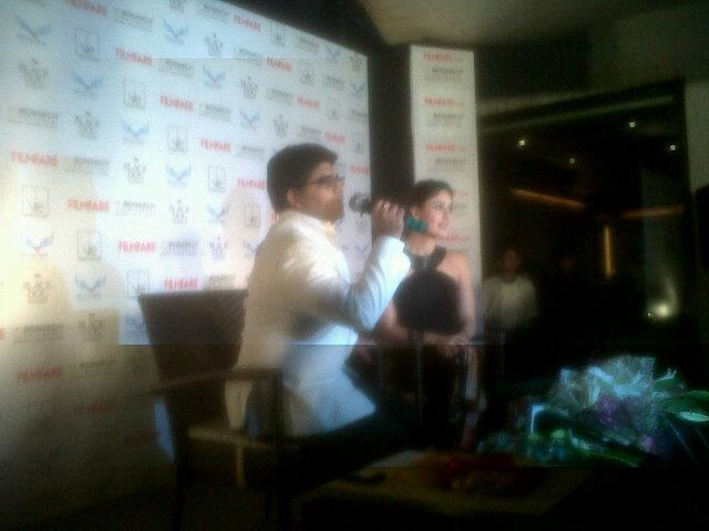 Kareena Kapoor at The Launch of Filmfare Issue