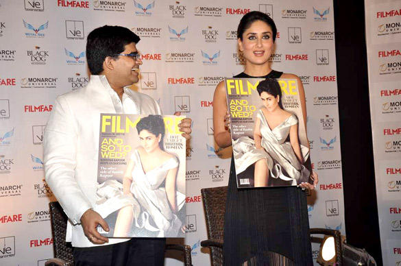 Kareena Kapoor Launches The September Issue of Filmfare-2012
