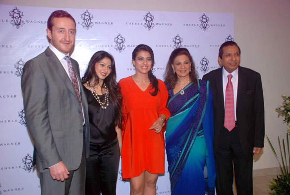 Kajol Devgan With Other Celebs at Sherle Wagner Store Launch