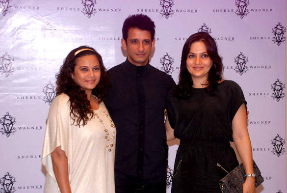 Sharman With Other Celebs at Sherle Wagner Store Launch