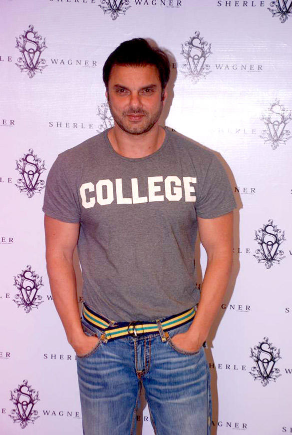Sohail Khan at Sherle Wagner Store Launch Event