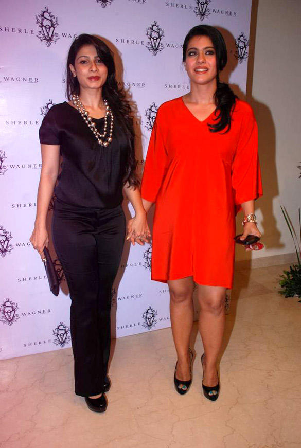 Tanisha and Kajol Launched The Sherle Wagner Store At The Oberoi Hotel in Mumbai