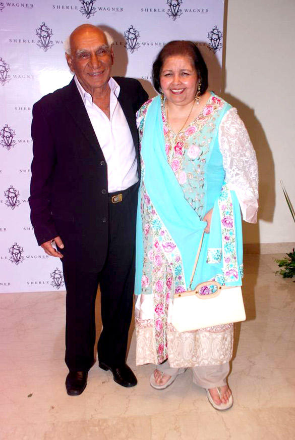 Yash Chopra and Pamela Chopra Attends The Sherle Wagner Store Launch Event