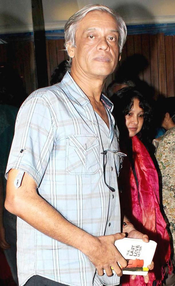 Sudhir Mishra Attend The Book Launch Of Minty Tejpal's Book At Cafe Mangii