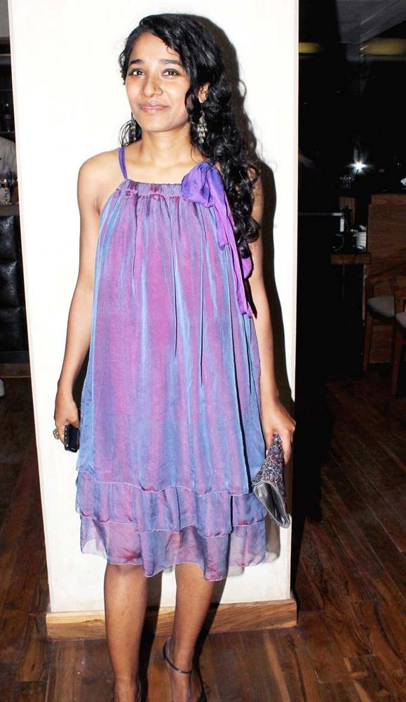 Tannishtha Chatterjee Attend The Book Launch Of Minty Tejpal's Book At Cafe Mangii