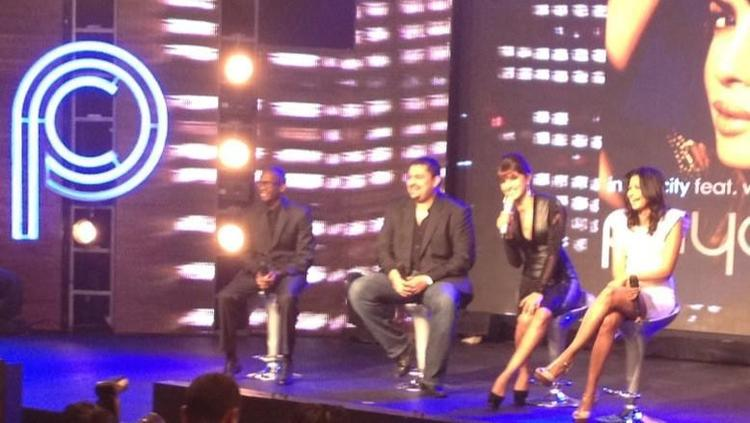 Priyanka Chopra During The Launch Of Her Debut Single In My City