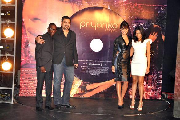 Priyanka Chopra Pose During In My City Album Launch Event