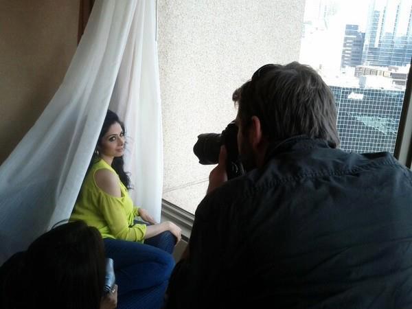 Sridevi Kapoor Hot Photo Shoot At TIFF 2012