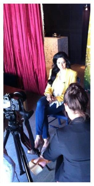 Sridevi On The Sets Of An Interview and A Photoshoot in Toronto