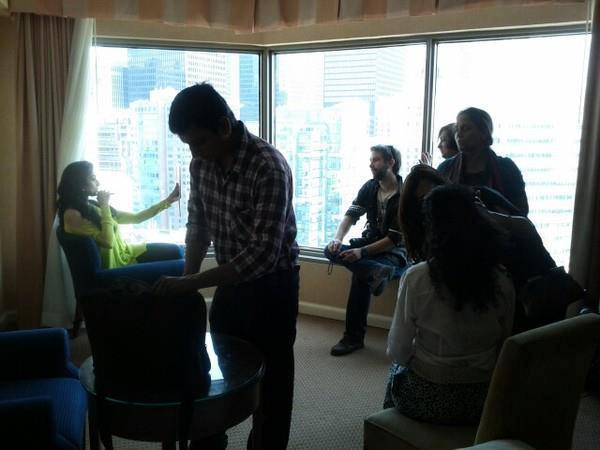 Sridevi in Toronto for English Vinglish
