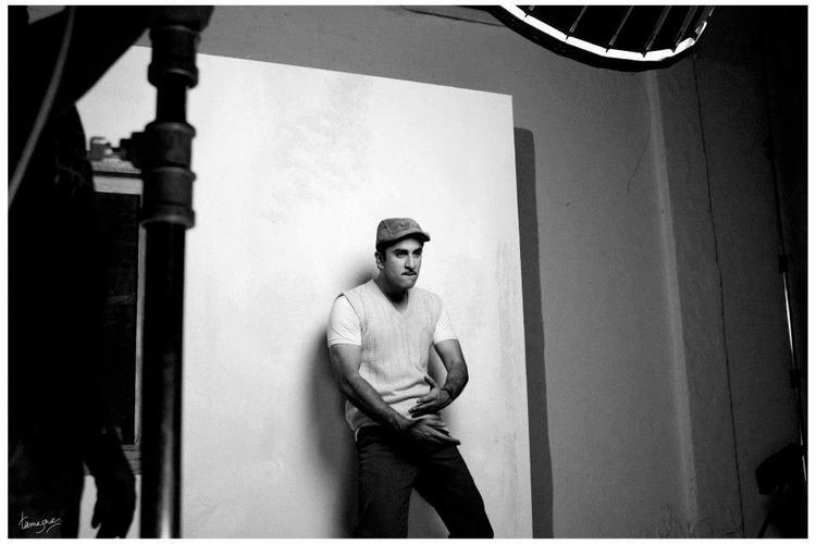 Ranbir Kapoor On The Sets Of Barfi