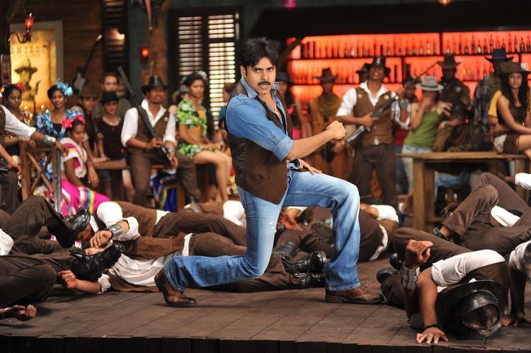 Style Icon Pawan Kalyan Still From Cameraman Gangatho Rambabu Movie