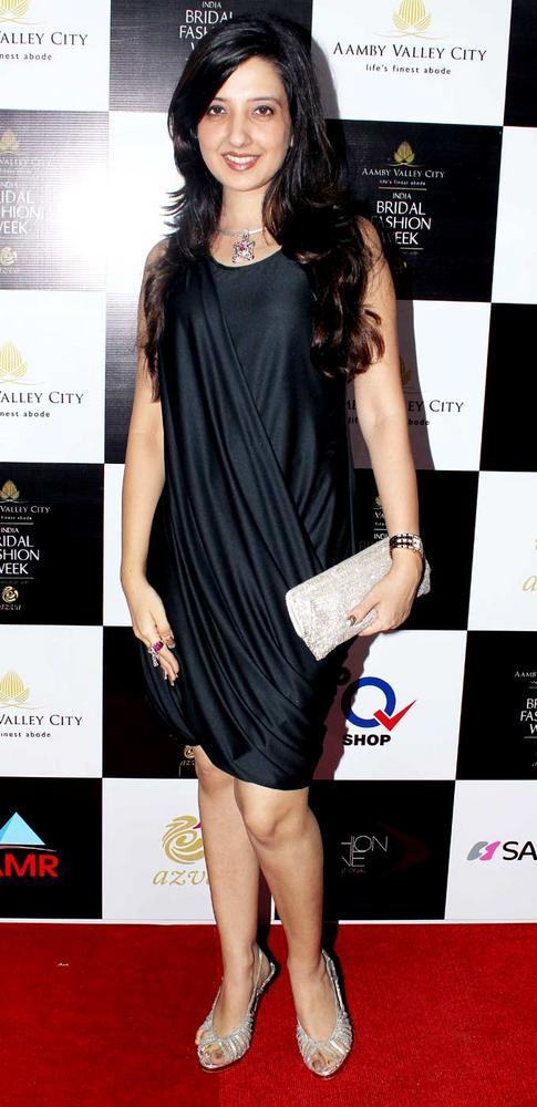 Amy Billimoria at Aamby Valley Bridal Fashion Week 2012 Day 2 Event