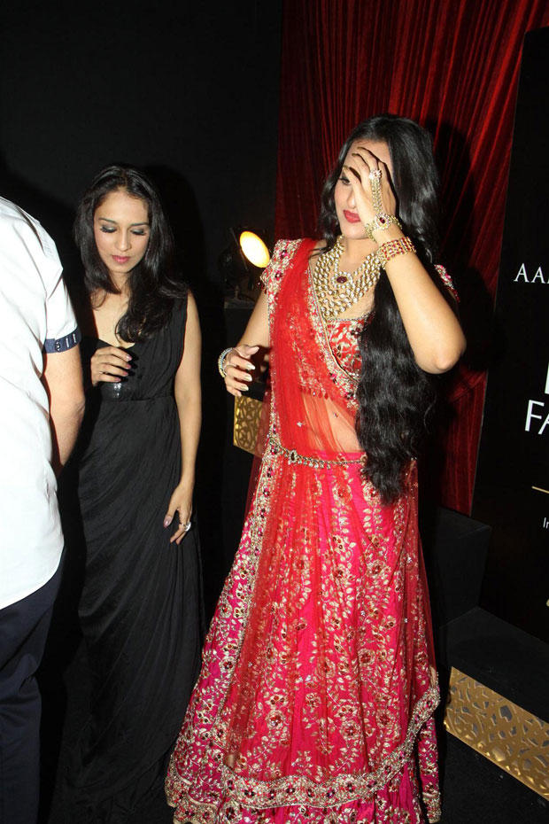 Sonakshi Snapped at Aamby Valley India Bridal Fashion Week-2012 Day 2 Event
