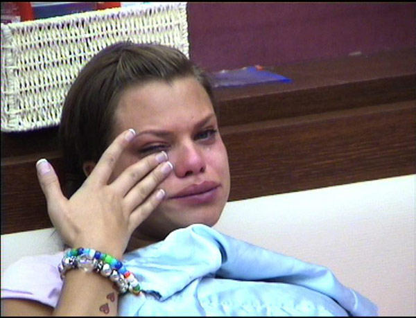 Jade Goody Crying Pic