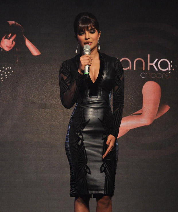 Priyanka In A Black Falguni and Shane Dress at Music Album In My City Launch Event
