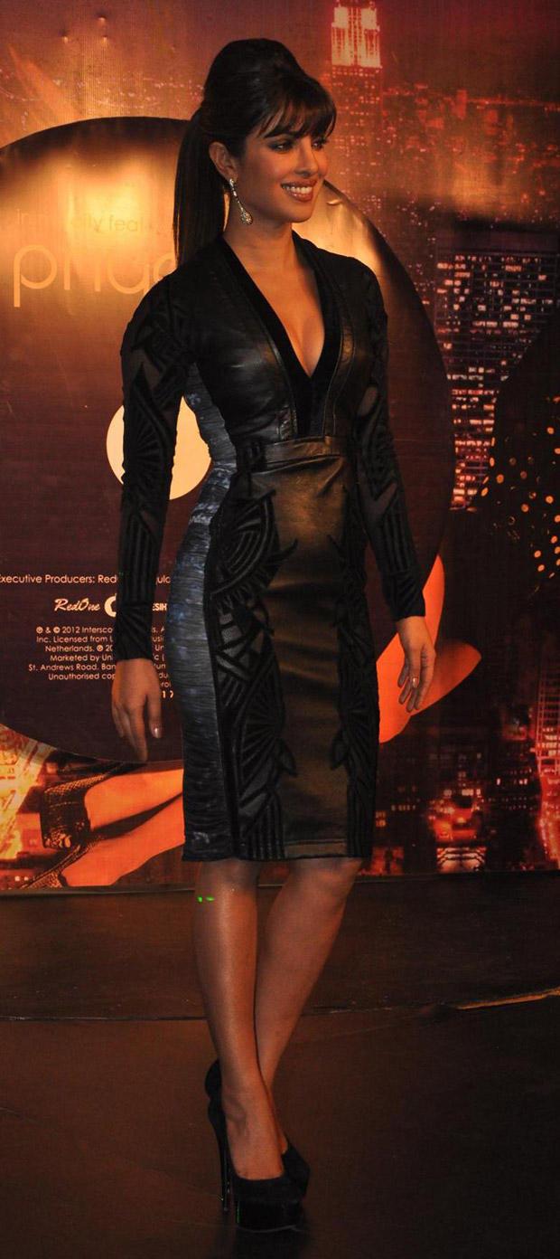 Priyanka Chopra In Falguni and Shane at In My City Single Launch