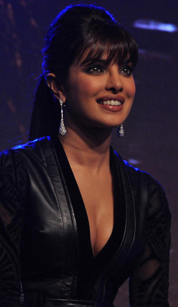 Priyanka Chopra Shows Cleavage In Hot Dress at In My City Single Launch