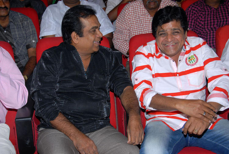 Comedian Ali and Brahmanandam at Rebel Audio Release Event
