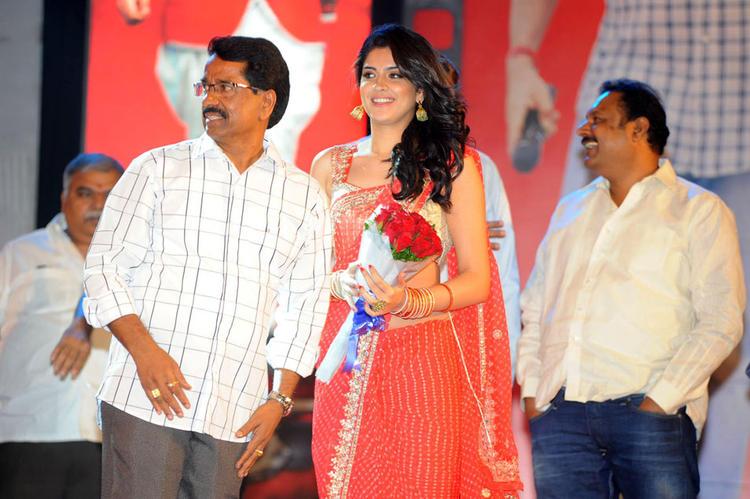 Deeksha Seth Snapped at Rebel Movie Audio Launch Event