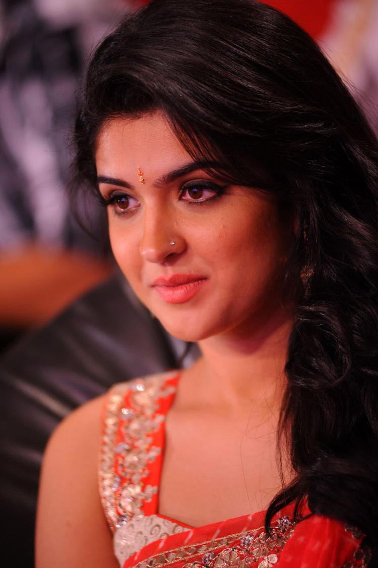Deeksha Seth Sweet Smile Pic at Rebel Audio Launch Event