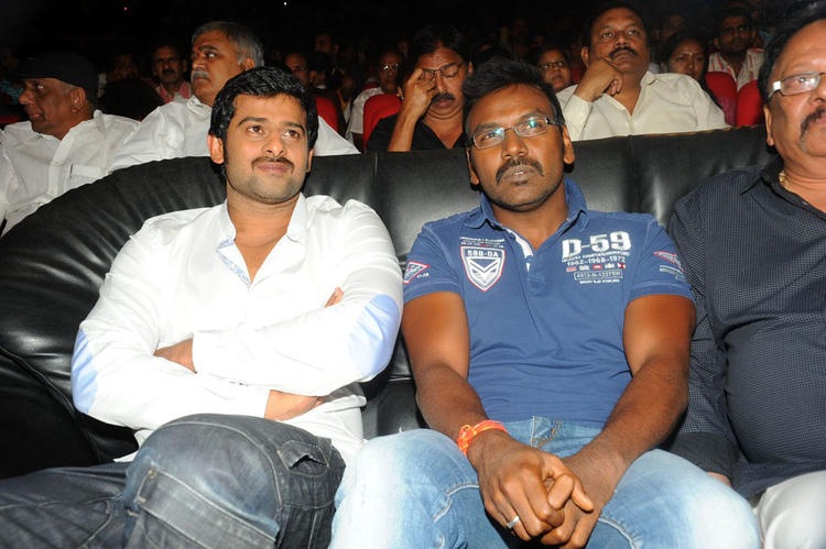 Director Raghava Lawrence at Rebel Audio Release Function