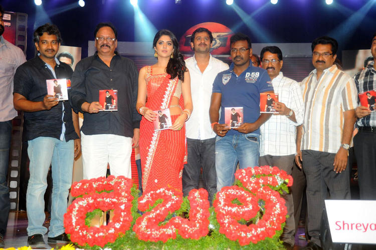 Prabhas,Deeksha and Raghava Launches Rebel Audio