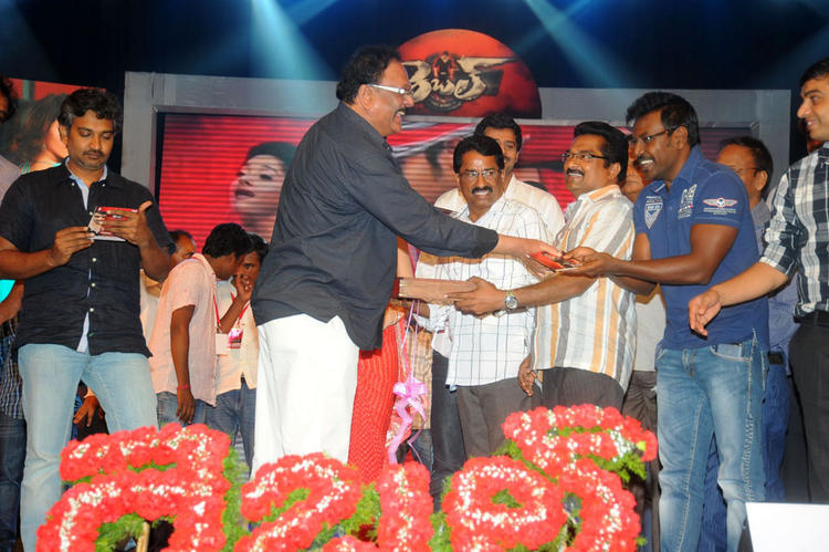 Raghava Lawrence During The Rebel Audio Release Event