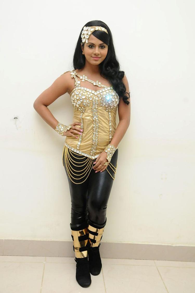 Rachana Mourya Hot Pic Before Rebel Audio Release Event
