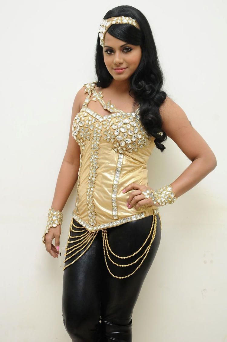 Rachana Mourya Looks Hot In This Dress at Rebel Audio Launch Event