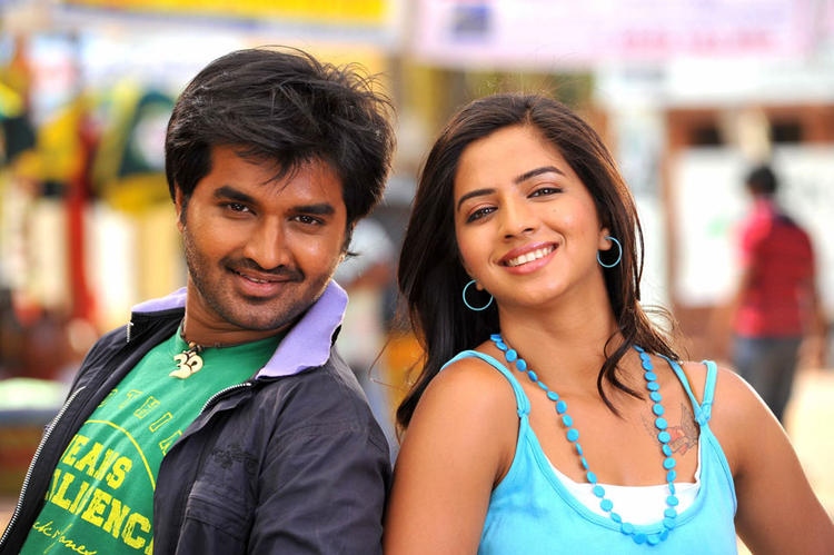 Dileep and Nisha Oke Okka Chance Movie Still