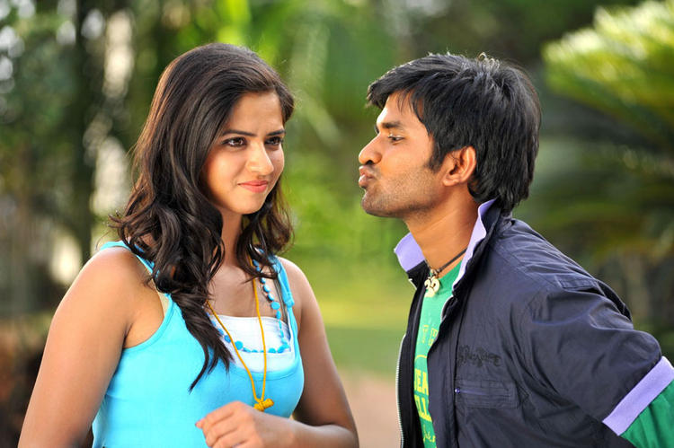 Dileep and Nisha Sexy Still In Oke Okka Chance Movie