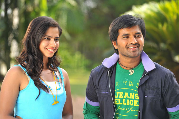 Dileep and Nisha Sweet Still In Oke Okka Chance Telugu Movie