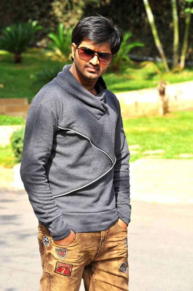 Dileep Kumar Stunning Stylish Pic In Oke Okka Chance Movie