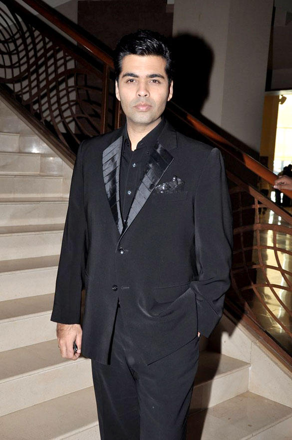 Karan Johar Snapped at The Launch Of India's Got Talent 2012