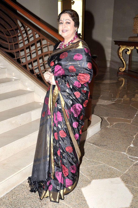 Kirron Kher Spotted at The Launch Of India's Got Talent 2012
