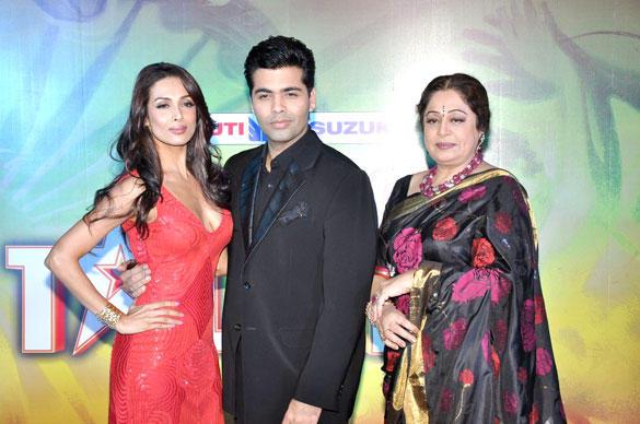 Malaika,Karan and Kirron Launches India's Got Talent 2012