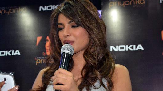 Priyanka Chopra Launches Her Single at the Nokia Store