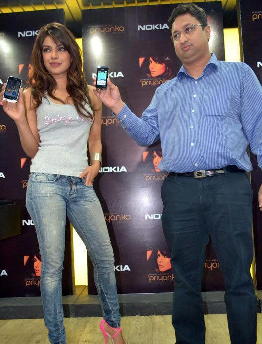Priyanka Chopra At The Nokia Music Store To Launch 'In My City'