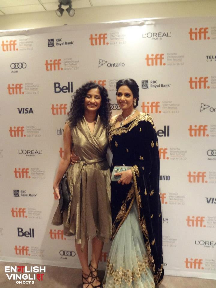 Sridevi and Gauri at English Vinglish Premiere at 2012 Toronto International Film Festival 2012