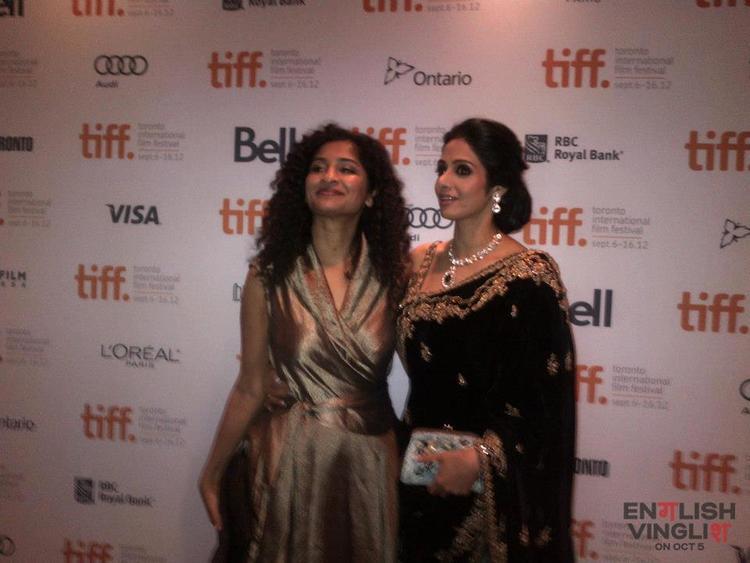 Sridevi and Gauri at TIFF For English Vinglish