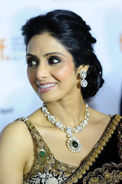 Sridevi Jewelry by Gehna Jewellers To The Toronto Interanational Film Festival 2012