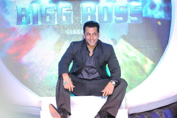 Bollywood Actor Salman Khan at Launch of This Year Bigg Boss-6