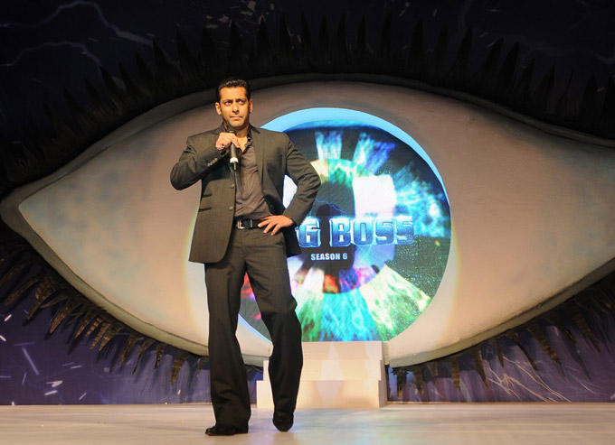 Salman Khan at The Launch Of Bigg Boss Season 6