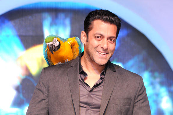 Salman Khan at Launch of This year Bigg Boss For Colors TV Channel